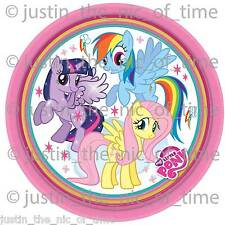 My Little Pony Birthday Party Supplies Napkins Cups Etc - X8 Paper Plates