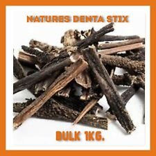 Natures Dental Stix 1kg  No NASTY Additives Pure Air Dried Tripe HEALTHY Option