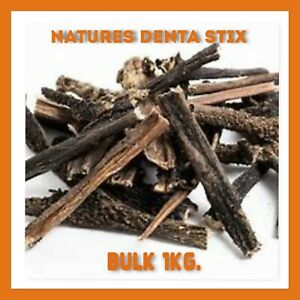 Natures Denta Stix 1kg No NASTY Additives, Pure Air Dried Tripe HEALTHY Option