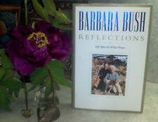 """1ST/1ST SIGNED BARBARA BUSH """"REFLECTIONS LIFE AFTER THE WHITE HOUSE"""" FIRST LADY"""