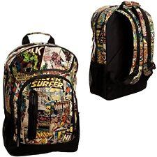 Official Marvel Comics Black Range Backpack Rucksack Bag