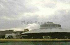 WW2 Picture Photo Captured Nazi UFO Haunebu with Truck MKII in USA  2805