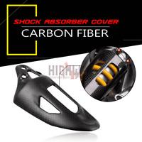 Carbon Fiber Shock Absorber Guard Cover For Ducati Panigale V2 899 959 1199 1299
