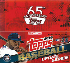 2016 Topps Traded Updates Baseball Factory Sealed Unopened Retail Box 24 Packs