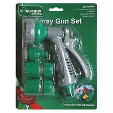 komplett Gartenschlauch Spritzpistole Set 6 Schnitt Sprüh und Verbindungsteile