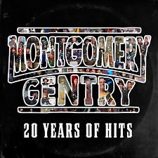 Montgomery Gentry 20 Years Of Hits CD New 2018 Darius Rucker Brad Paisley