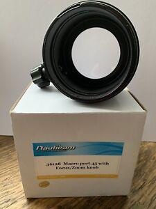 NAUTICAM 36128 Macro Port 45 With Focus/Zoom Knob