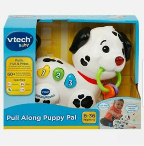 VTech - Pull Along Puppy Pal - Interactive Music & Sounds Toy For Kids