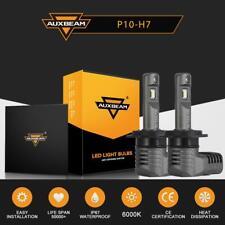 Auxbeam F-P10 Series H7 60W 7600LM LED Headlight Conversion Kit Bulbs 6000K HID