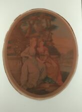 Gravure XVIIIéme de William Dickinson d'après peinture d'Angelica Kauffman
