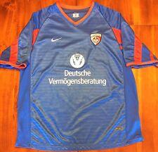 Nike 1.FC KAISERSLAUTERN 2002/03 Away Soccer Jersey L Football Shirt Blue Trikot