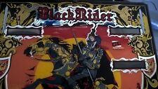 VETRO VINTAGE FLIPPER BLACK RIDER ANNI 60/70