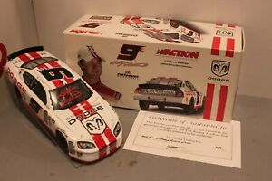 2005 Kasey Kahne Dodge Reverse Pit Cap 1/24 Action NASCAR Diecast Autographed