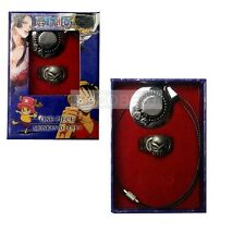 One Piece Ace's hat Pendant Necklace and Ring set cosplay Accessories