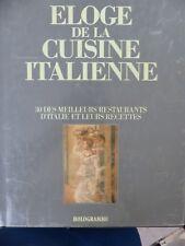 Antonio Piccinardi, Eloge de la cuisine italienne