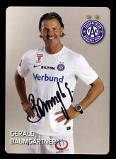 Gerald Baumgartner Autogrammkarte Austria Wien 2014-15 Original Signier+A 107006