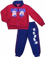 Kids Boys MINIONS Hero Disney Characters Tracksuit Outfit & Sets, 3 4 5 6 7 8YRS