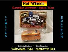 Johnny Lightning KustomKon Convention Limited Volkswagen VW Bus D'Agostino 100