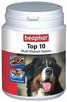 Beaphar Top-10 Dog Supplement, 160 Tablets , Beaphar Top-10 Dog Supplement