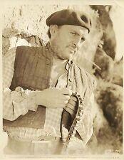 """ARTURO DE CORDOVA in """"For Whom the Bell Tolls"""" Original Vintage Photo 1943"""