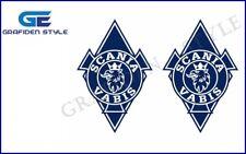 1 Paar SCANIA VABIS RAUTEN - LKW Aufkleber - Sticker - Decal - H 32cm !<>!