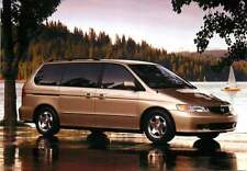 Advertising Postcard 2000 Honda Odyssey Mini Van
