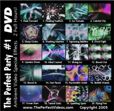 Light Show Special Effects Party DVD Colorful Ambient Computer Graphics Vol #1