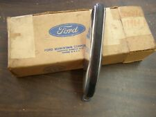 NOS OEM Ford 1970 - 1973 Maverick Rear Bumper Guard RH 1971 1972