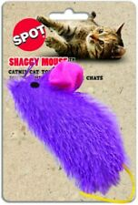 "Ethical Spot Shaggy Mouse 4.5"" Cat Toy Longhair Fun Nip. Colors Vary No Picking"