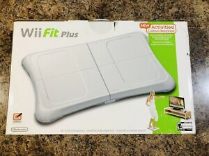 Wii Fit Plus With Balance Board Brand New in Box (Nintendo Wii, 2008) Fast Ship!