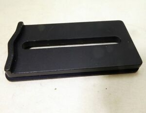 Trpod slide Plate shoe  76X40mm  for camera tripod