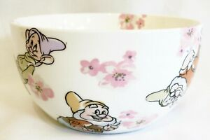 Cath Kidston Disney Snow White Cereal Bowl Seven Dwarfs 7 Dwarves Blossom Floral
