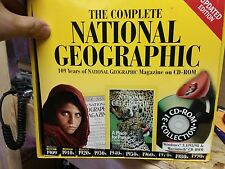 THE COMPLETE NATIONAL GEOGRAPHIC 109 YEARS OF MAGAZINES on CD-ROM