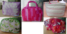Clinique Assortment of Colorful Cosmetic Makeup Case Bags choose