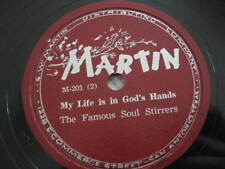 """9 Spiritual """"race"""" 78s by Soul-Stirrers, Myrtle Jackson, 4 Chimes, Trumpeteers,"""