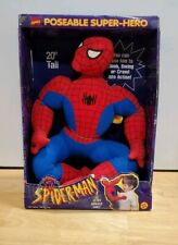 1994 Toy Biz Spider-Man Animated Series 20 Inch Poseable Super Hero New In Box