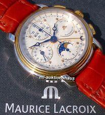 Maurice Lacroix - MASTERPIECE - Chronograph mit VOLLKALENDER und MONDPHASE