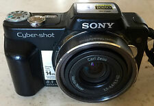 Sony Cyber-shot DSC-H3 Digital Camera (Black) & all accessories; mint condition
