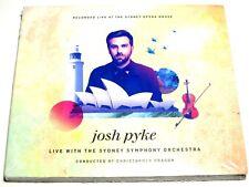 cd-album, Josh Pykes - Live With The Sydney Symphony Orchestra, 17 Tracks, Digip