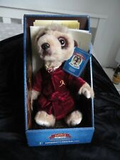 Meerkats Aleksandr. Compare the Meerkats Authenticated Soft Toy in box.