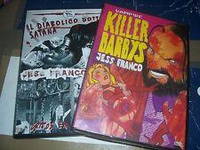 LOTTO 5 DVD JESS FRANCO IL DIABOLICO DOTTOR SATANA  KILLER BARBYS CONTE DRACULA
