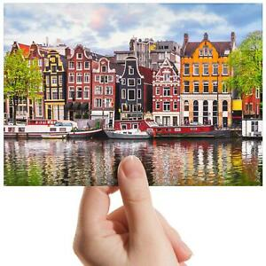 "Amsterdam Dancing House River Small Photograph 6""x4"" Art Print Photo Gift #16600"