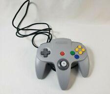 Original Nintendo N64 Gray Controller Oem Nus-005 Tested & Working - Good Stick