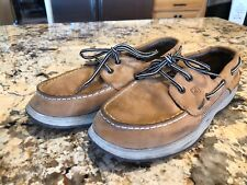 Sperry Intrepid Boys Leather Loafers Shoes Size 6.5M