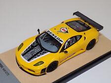 1/43 Tecnomodel Ferrari 430 GT2 from 2009 Yellow Dunlop. GP102