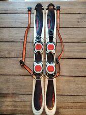 Salomon Snow Blade Skis Trick Mini Skis Adjustable Bindings