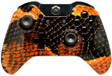 """Gold Dragon"" Xbox One Custom UN-MODDED Controller Exclusive Design"