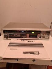 JVC DD-V7 STEREO CASSETTE DECK RARE AND WORKING DOLBY WITH ORIGINAL MANUAL