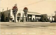 Arizona, AZ, Mesa, El Portal Hotel Real Photo Postcard 1940's