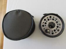 """V Good Vintage Youngs beaudex Trout Fly Fishing Reel 3.5"""" + lineguard + étui"""